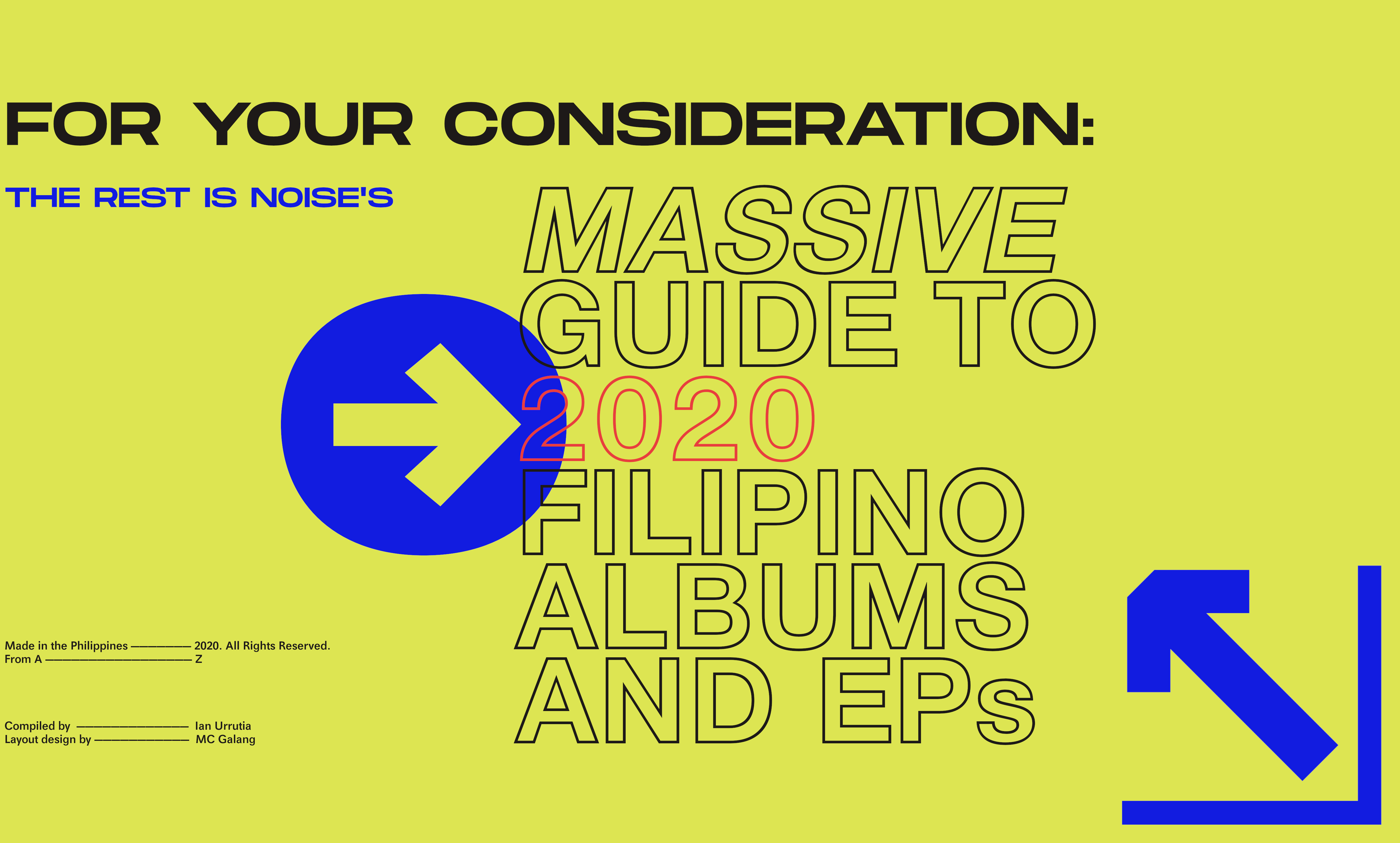 Your Massive Guide to 2020 Filipino Albums and EPs