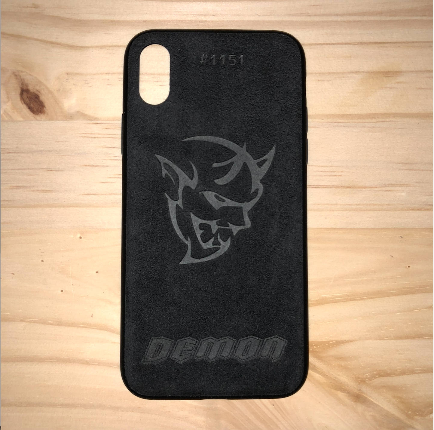 how to tell if your iphone is tapped premium custom alcantara phone w hellcat srt logo 21057