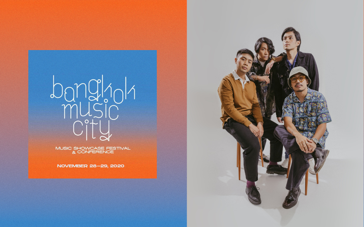Bangkok Music City 2020 to (virtually) showcase She's Only Sixteen, Lions & Acrobats, Bawal Clan, and more