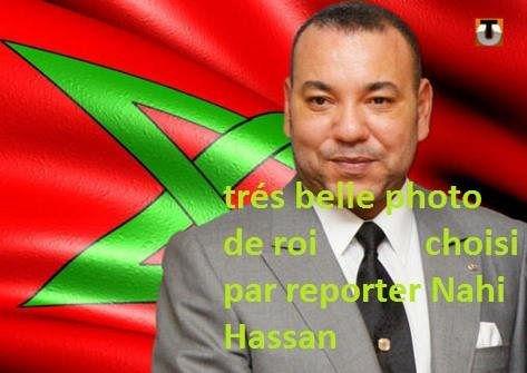 Le roi Mohammed VI - Cliquez pour agrandir