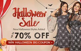 Halloween Sale 70% OFF